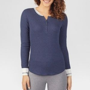Warm Essentials Womens Waffle Thermal shirt